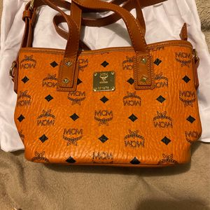 Preloved MCM Cross Body Bag Small Size No Sign Of Usage Original From Korea Good Quality Good Condition Good Price for Sale in Miami, FL