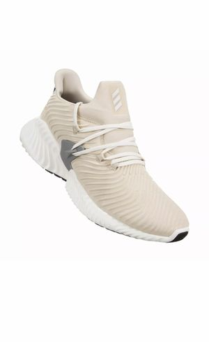 New Adidas Men's Sz 10 Alphabounce Instinct Running Shoe Linen/White/Grey B76039 New without box for Sale in French Creek, WV