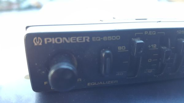 OLD SCHOOL PIONEER EQ-6500 PARAMETRIC CAR EQUALIZER for Sale in Miami, FL -  OfferUp