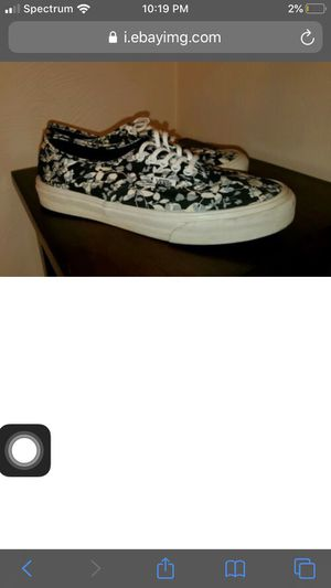Vans size 7 floral shoes for Sale in Winchester, CA