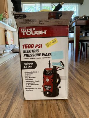 Hyper Tough Electric Pressure Washer for Sale in Valrico, FL