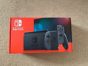 Switch Console Grey - NEW 2nd gen for Sale in Fairfax, VA