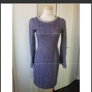 Purple cocktail dress sz Small for Sale in Skokie, IL