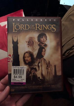 Lord of the Rings on DVD for Sale in Tacoma, WA