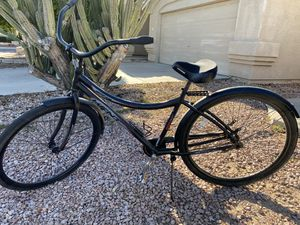 Kent 6061 beach cruiser 29 in black on black for Sale in Peoria, AZ