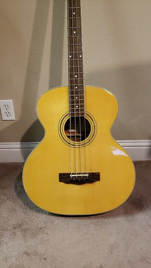 Hofner acoustic electric bass guitar for Sale in Fresno, CA
