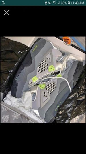 Jordan retro 4 in size 7.5 we can trade for anything shoes no box for Sale in Tampa, FL