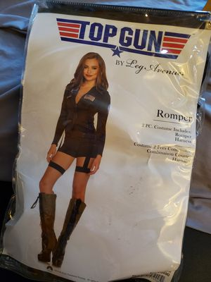 Top guns women costume size M for Sale in Los Angeles, CA