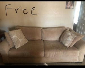 Free Big comfortable sofa and loveseat for Sale in Foothill Ranch, CA