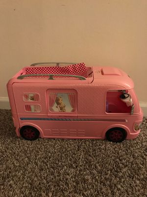 Barbie camper with slide and pool for Sale in Schaumburg, IL
