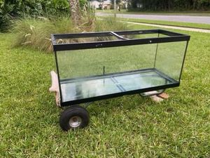 75 gallon, 2 large/1 small filter, heat lamp, tank light, heater SET for Sale in Port Orange, FL