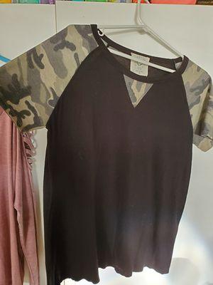 Ladies med. Camo shirt for Sale in Allen Park, MI