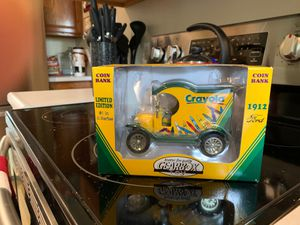 NIB : Crayola: Coin Bank 1912 1st in Collector Series for Sale in Chippewa Falls, WI