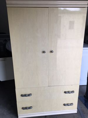 Nice armoire 2 Drawers- Delivery Available for Sale in Mount Dora, FL