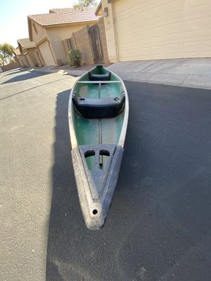 Coleman Outfitter 15' Green 3 Person Canoe for Sale in Gilbert, AZ