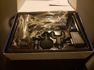 Massage gun with 4 attachments for Sale in Glendale, AZ