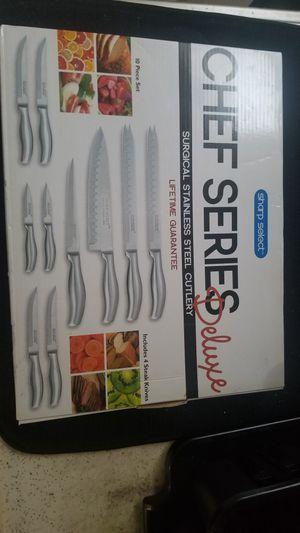 Sharp Select knife set for Sale in Westminster, MD