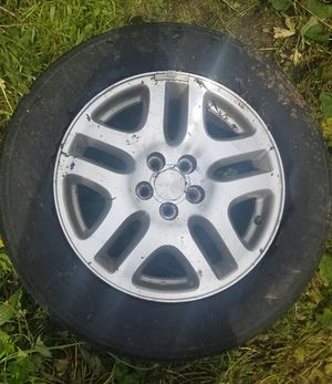 Set of Subaru rims and tires for Sale in Monroe, WA
