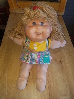 Cabbage patch kid RECALLED snacktime doll for Sale in Las Vegas, NV