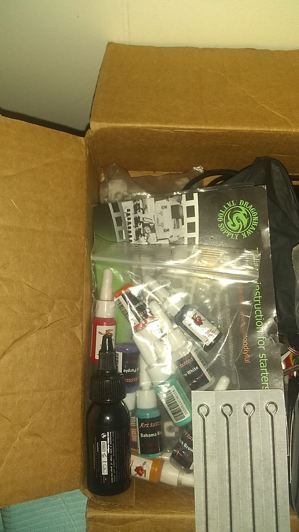 Fresh tattoo kit everything comes with it serious people only