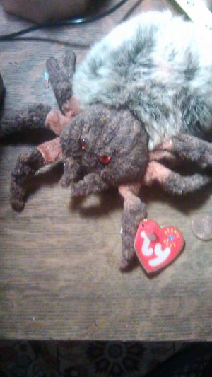 HAIRY Beanie Baby with hang tag like new Creepy Halloween? for Sale in Oceanside, CA