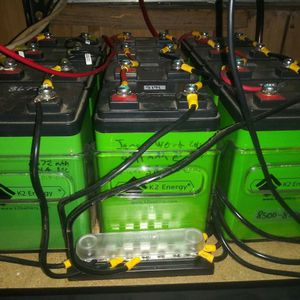 24v 5kWh LiFePO4 battery bank for solar for Sale in Oakland, CA