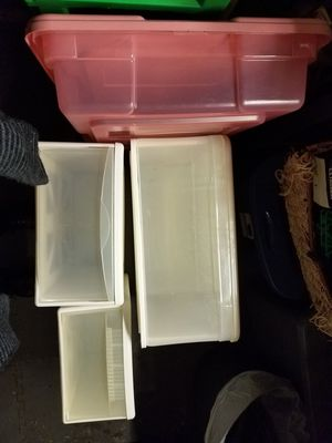 Plastic storage drawers multi sized for Sale in Tumwater, WA