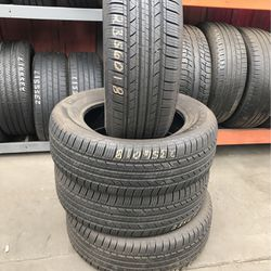 """18"""" tires semi new 235/60/18 with free installation $200 for Sale in Commerce,  CA"""