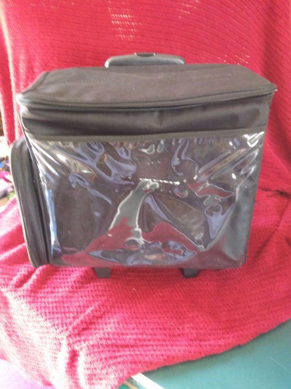 Scrapbook travel bag