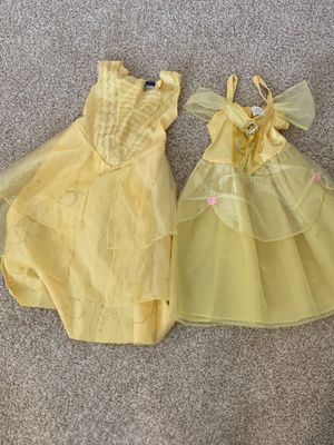 belle costume for kids ( size 4-6) for Sale in Fairfax, VA