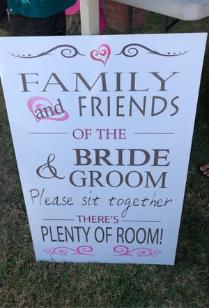 Wedding Sign for Sale in Paramount, CA