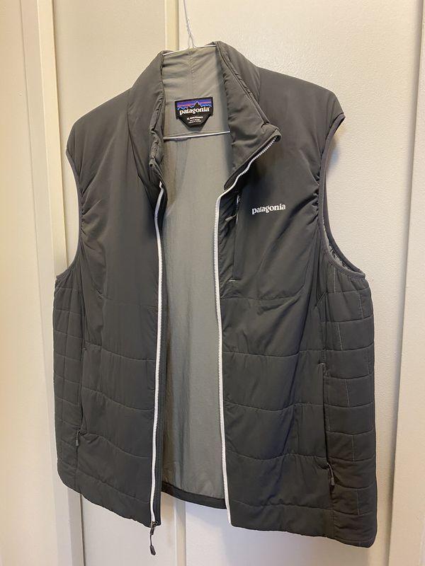 Patagonia Men's Lightweight Gray Vest size XL