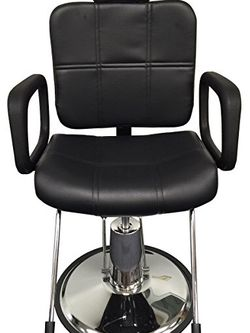Black Leather Reclining Hydraulic Barber Chair for Sale in Duluth,  GA
