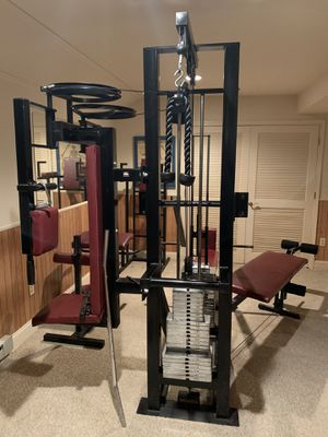 Heartline Fitness Home Gym for Sale in Ellicott City, MD
