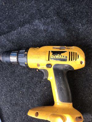 dewalt drill no battery for Sale in Lafayette, IN