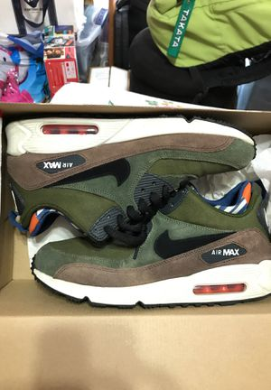 Nike air max 90 mid sneakerboot olive moss sz8.5 for Sale in Kissimmee, FL