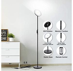 LED Torchiere floor lamp for Sale in San Francisco, CA