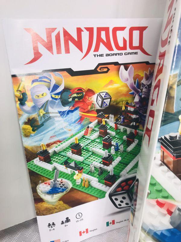 Lego Ninjago Building Set Board Game #3856