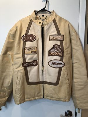 Motorcycle style leather jacket for Sale in Vallejo, CA