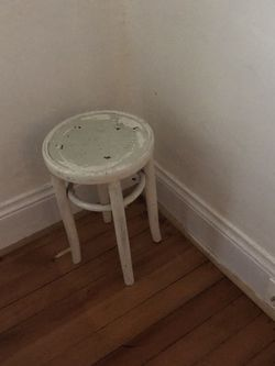 Shabby Chic Painted Stool for Sale in Portland,  OR