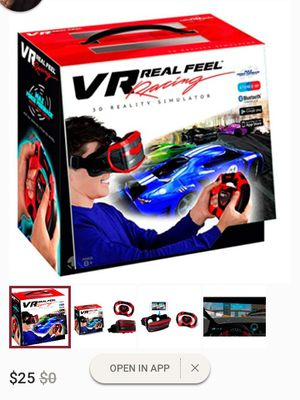 VR Real Feel Racing Game for Sale in Acworth, GA