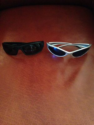 Black and silver framed sunglasses for Sale in Atlanta, GA