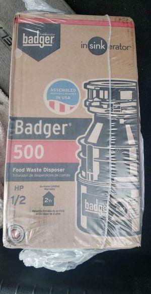 Badger garbage disposal for Sale in Spokane Valley, WA