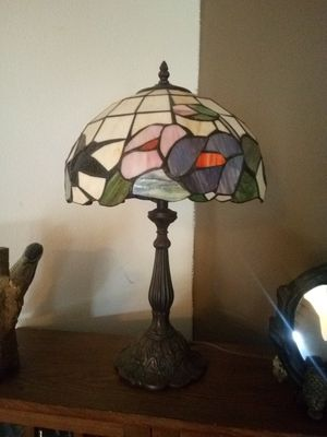 Stained Glass Table Lamp for Sale in Darrington, WA