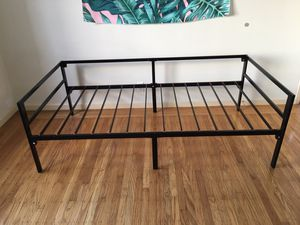 Bed frame twin size new for Sale in San Francisco, CA