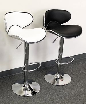 """(NEW) $45 each Barstool Modern Chair Swivel Bar Stool PU Leather (Adjustable Seat Height 23-31"""") for Sale in El Monte, CA"""