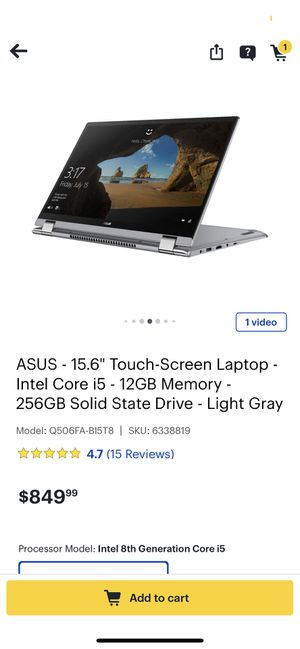 Asus laptop excellent condition for Sale in Falls Church, VA
