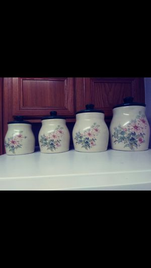 Kitchen canister set for Sale in San Antonio, TX