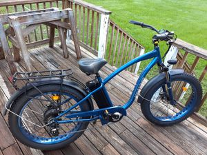 Bicycle, Maxfoot MF-18 750-W electric bike for Sale in Dover, FL