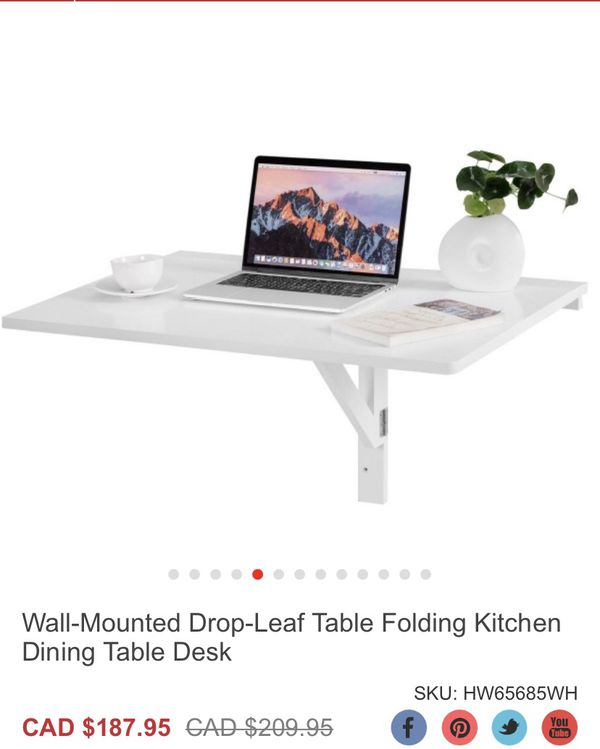 Table folding kitchen Dining
